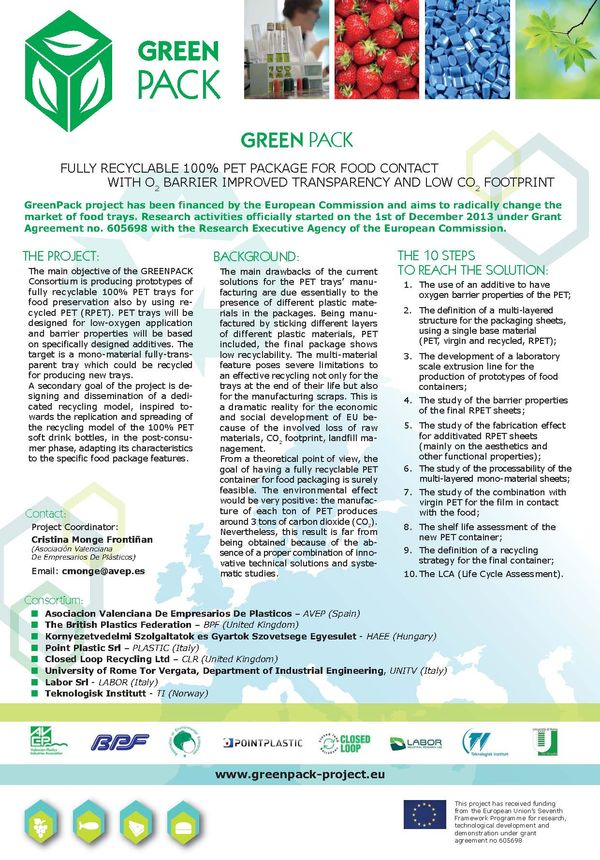 Green Pack Flyer